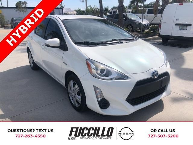 used 2015 Toyota Prius c car, priced at $12,000