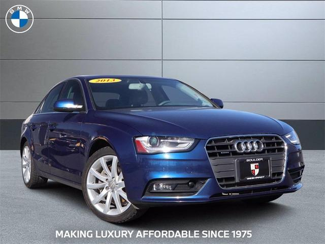 used 2013 Audi A4 car, priced at $20,942