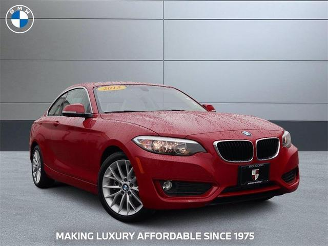 used 2015 BMW 228 car, priced at $24,849