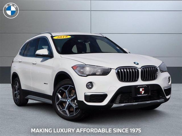 used 2018 BMW X1 car, priced at $28,927