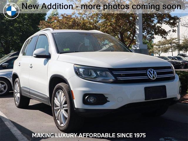 used 2016 Volkswagen Tiguan car, priced at $18,839