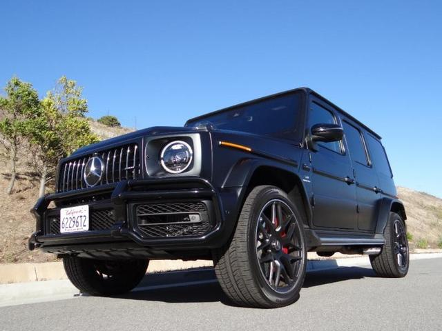 used 2019 Mercedes-Benz AMG G 63 car, priced at $209,900