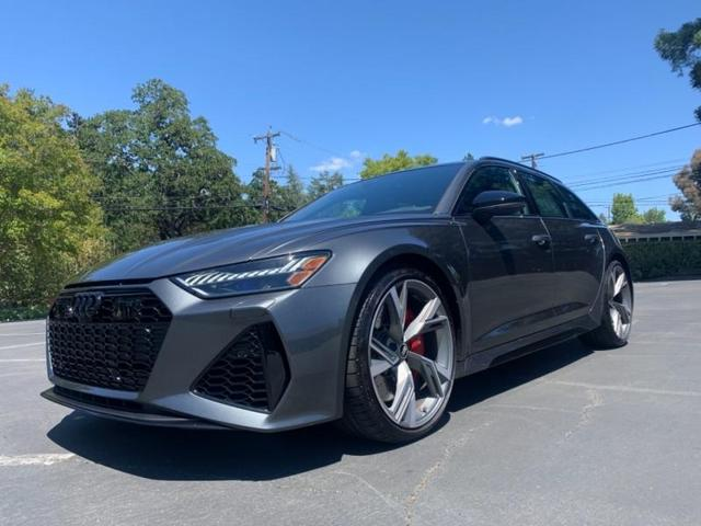 used 2021 Audi RS 6 Avant car, priced at $144,900