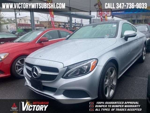 used 2017 Mercedes-Benz C-Class car, priced at $25,799