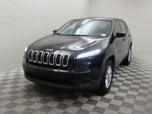 used 2017 Jeep Cherokee car, priced at $18,109