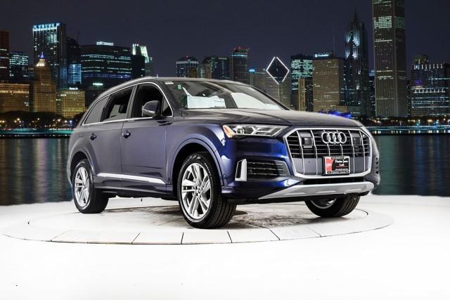 new 2021 Audi Q7 car, priced at $64,375
