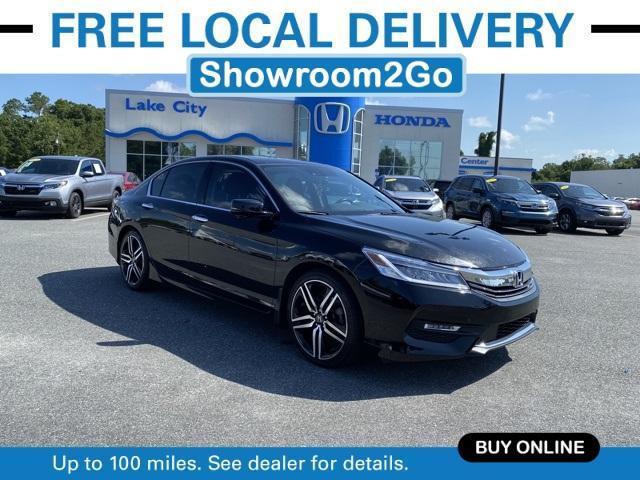 used 2017 Honda Accord car, priced at $22,818
