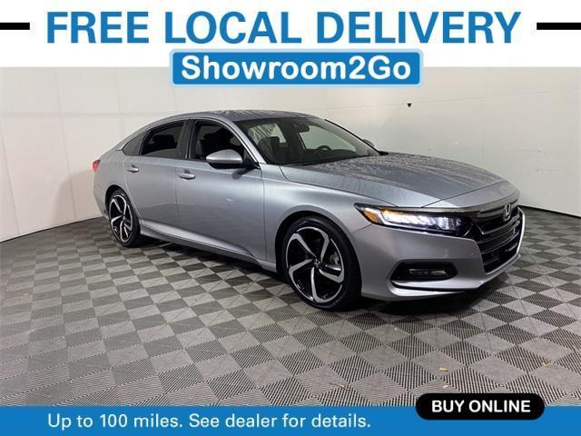 used 2020 Honda Accord car, priced at $25,891
