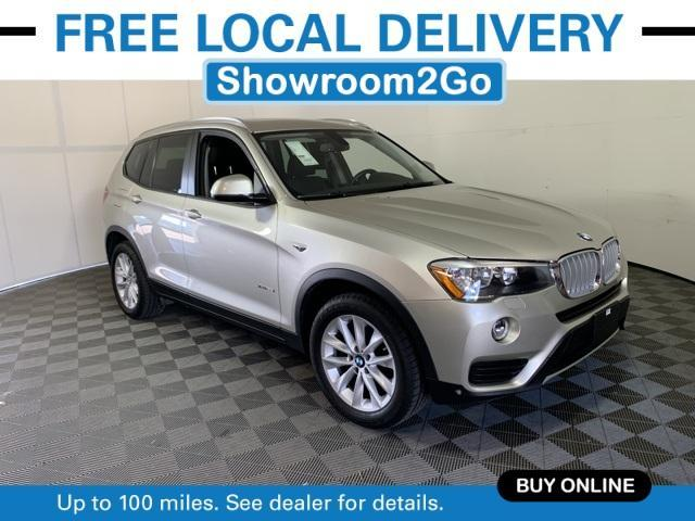 used 2017 BMW X3 car, priced at $25,932