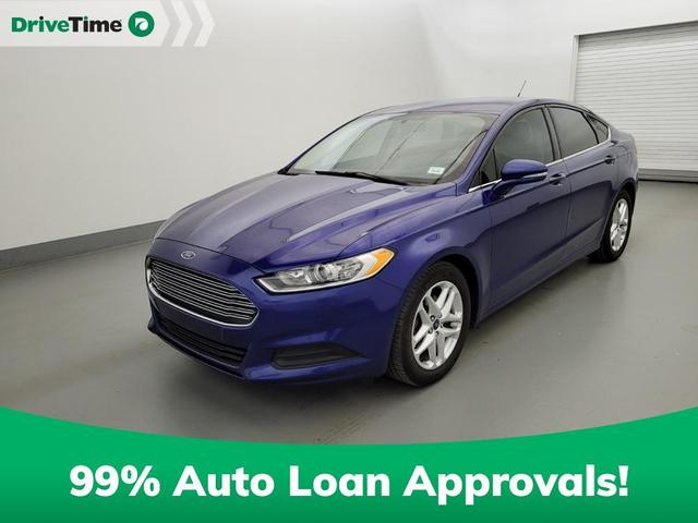 used 2016 Ford Fusion car, priced at $14,395
