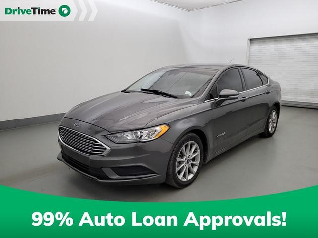 used 2017 Ford Fusion Hybrid car, priced at $14,795