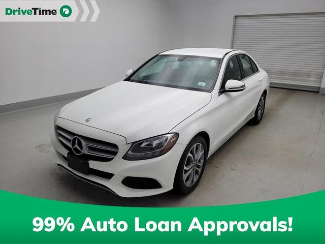 used 2017 Mercedes-Benz C-Class car, priced at $26,297