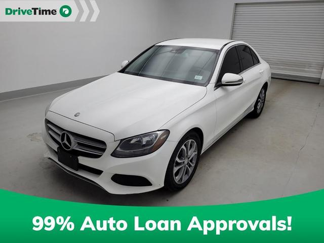 used 2017 Mercedes-Benz C-Class car, priced at $26,897