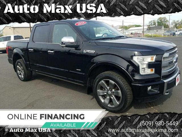 used 2016 Ford F-150 car, priced at $36,999