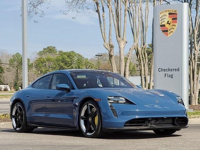 new 2021 Porsche Taycan car, priced at $211,950