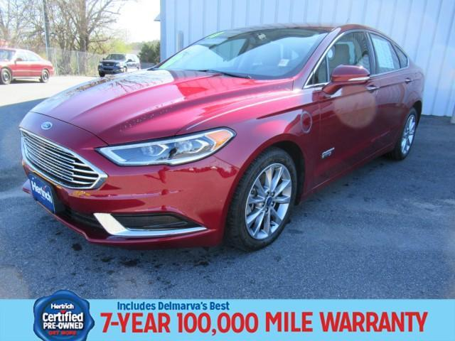 used 2018 Ford Fusion Energi car, priced at $21,990