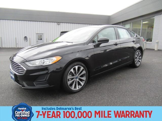 used 2019 Ford Fusion car, priced at $21,990