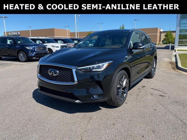 new 2021 INFINITI QX50 car, priced at $59,340