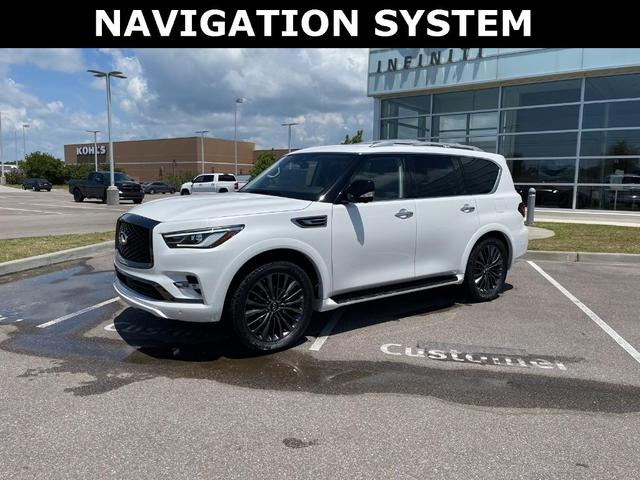 new 2021 INFINITI QX80 car, priced at $76,730
