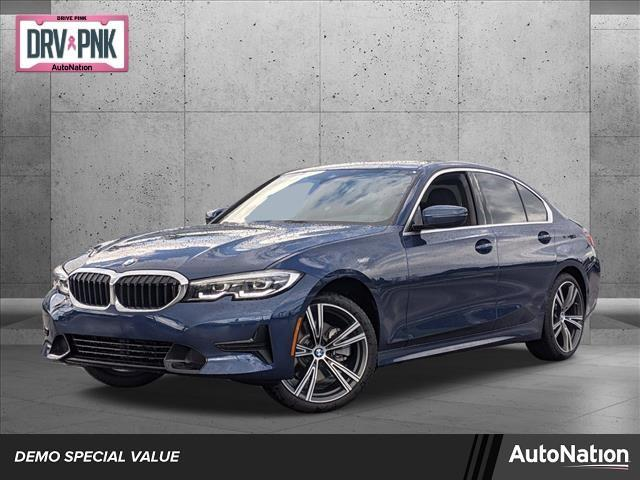 used 2021 BMW 330 car, priced at $46,160