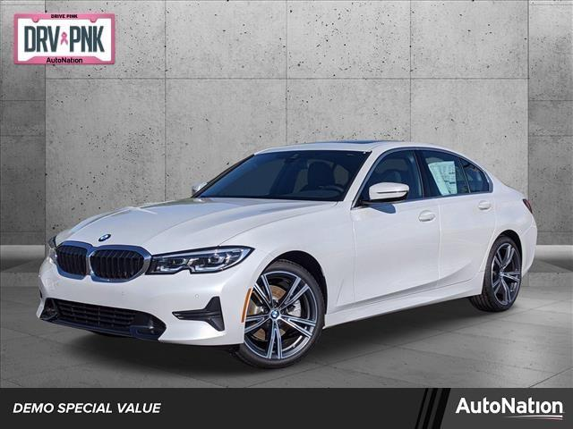 used 2021 BMW 330 car, priced at $46,395