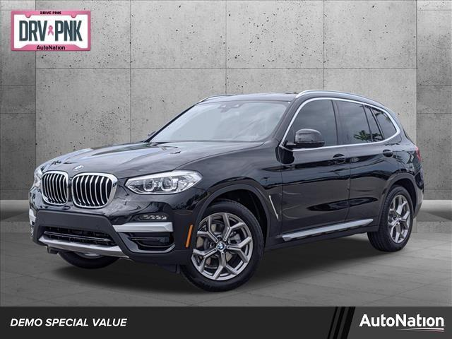 used 2021 BMW X3 car, priced at $47,745