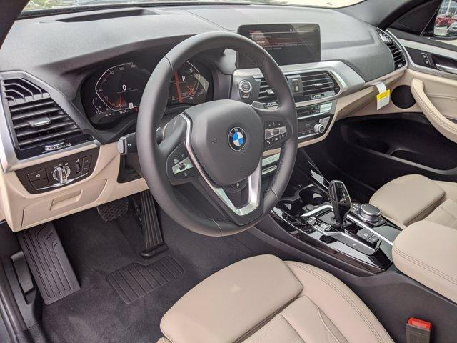 new 2021 BMW X3 car, priced at $50,470