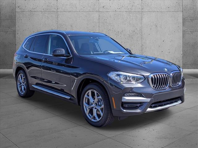 used 2021 BMW X3 car, priced at $48,635