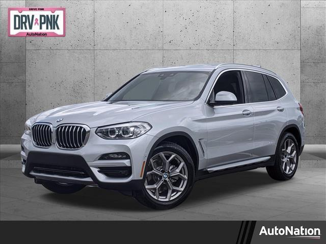 new 2021 BMW X3 car, priced at $48,495