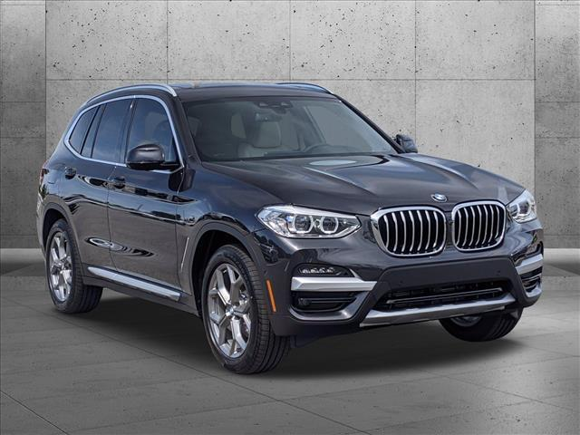 new 2021 BMW X3 car, priced at $50,220