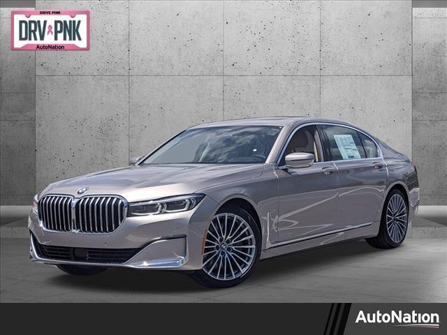 new 2022 BMW 750 car, priced at $111,245