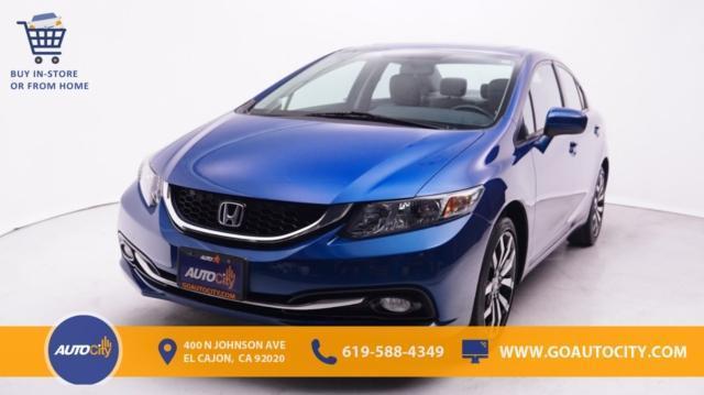 used 2015 Honda Civic car, priced at $18,500