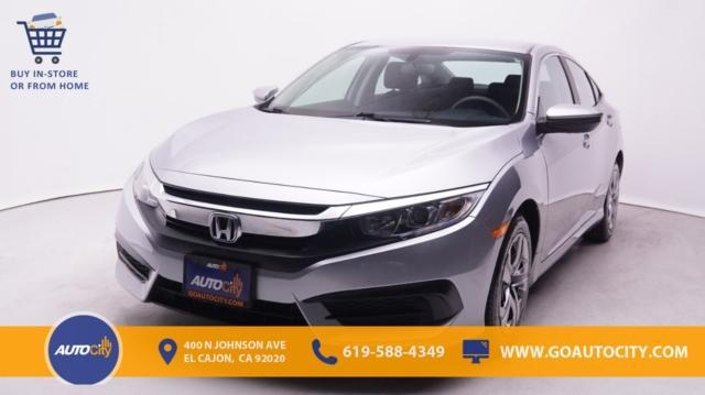 used 2018 Honda Civic car, priced at $18,450