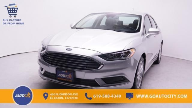 used 2018 Ford Fusion car, priced at $18,500