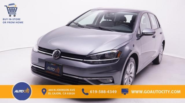 used 2018 Volkswagen Golf car, priced at $18,500