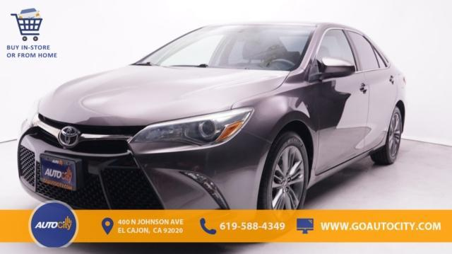 used 2015 Toyota Camry car, priced at $17,500