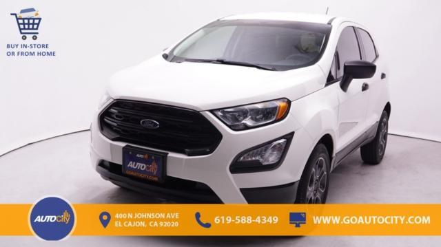 used 2019 Ford EcoSport car, priced at $18,500