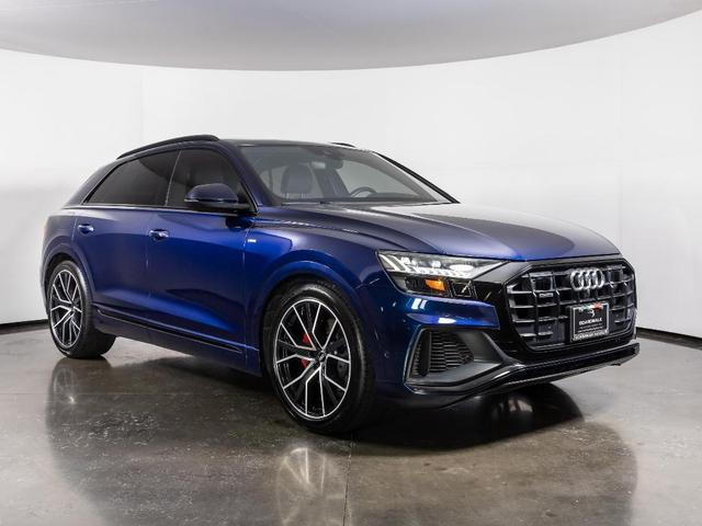 used 2019 Audi Q8 car, priced at $74,900