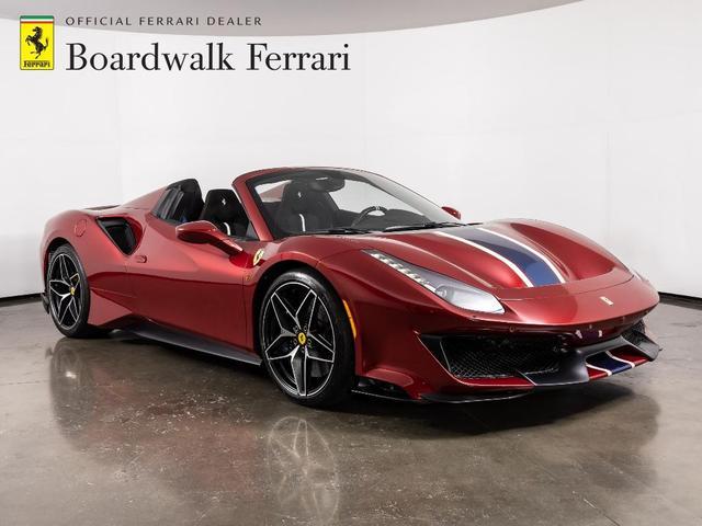 used 2020 Ferrari 488 Pista Spider car, priced at $579,900