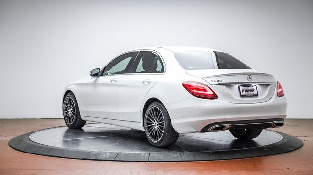 used 2019 Mercedes-Benz C-Class car, priced at $34,888