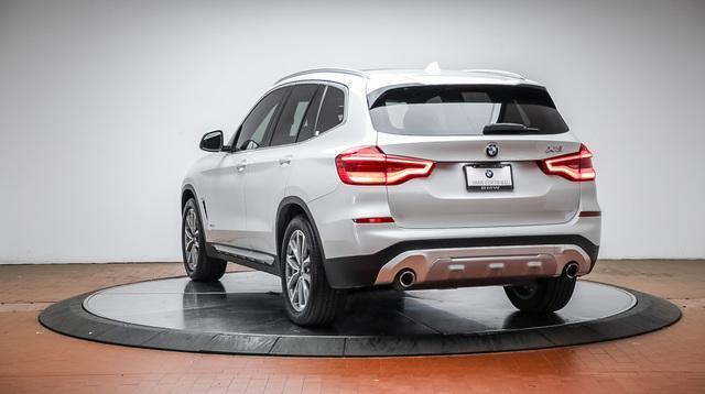 used 2018 BMW X3 car, priced at $35,588