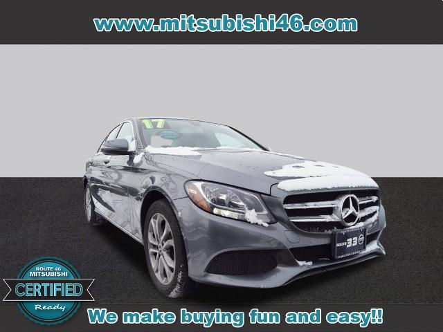 used 2017 Mercedes-Benz C-Class car, priced at $21,995