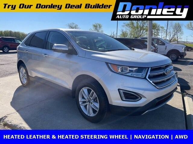 used 2018 Ford Edge car, priced at $27,495