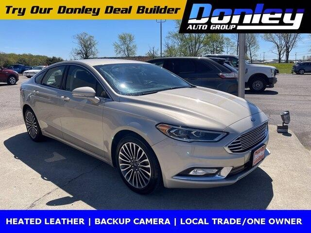 used 2017 Ford Fusion car, priced at $14,257