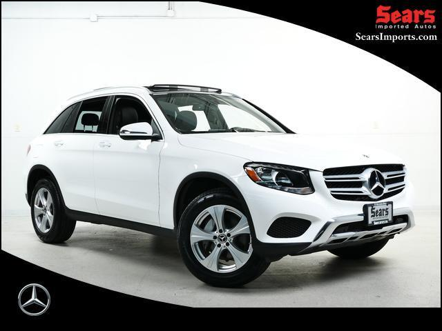 used 2018 Mercedes-Benz GLC 300 car, priced at $33,718