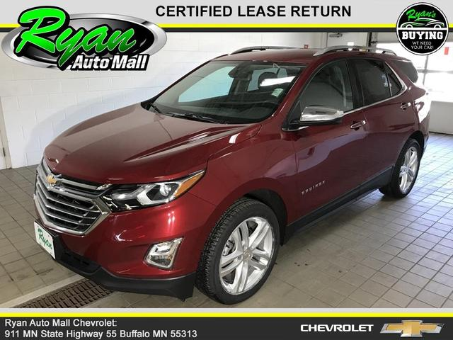 used 2018 Chevrolet Equinox car, priced at $26,705
