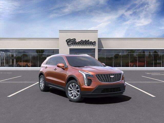 new 2021 Cadillac XT4 car, priced at $44,640