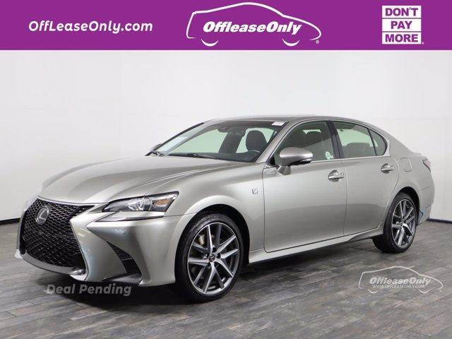 used 2018 Lexus GS 350 car, priced at $33,499