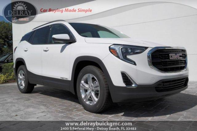 new 2019 GMC Terrain car