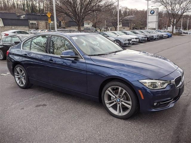 used 2018 BMW 330 car, priced at $29,990
